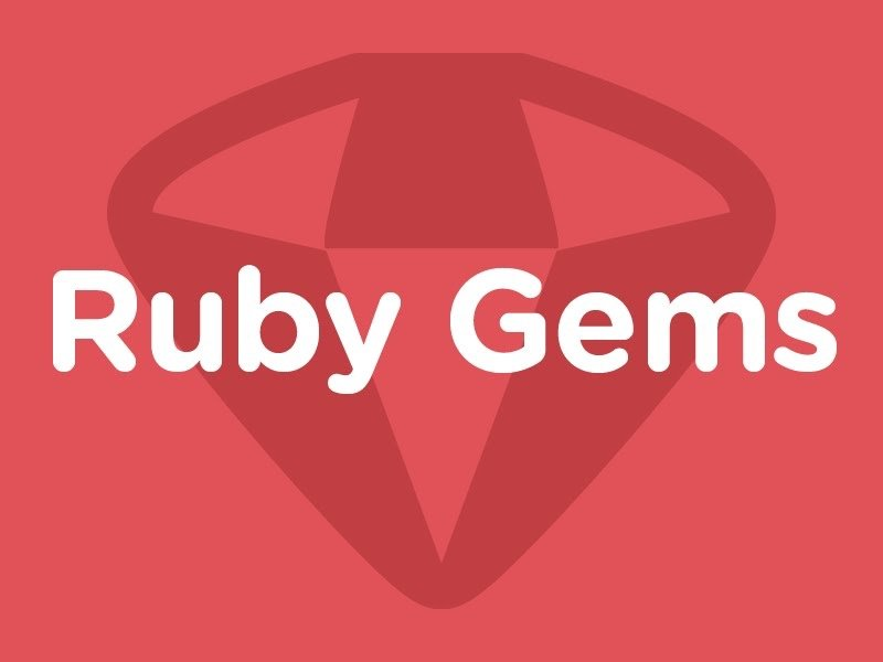 ruby useful gems
