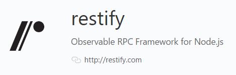 Restify JS