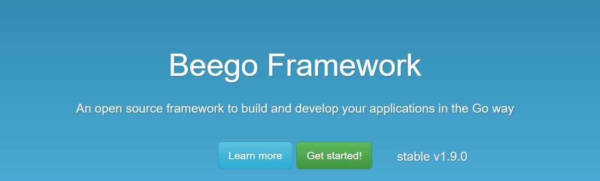 Golang Framework Beego