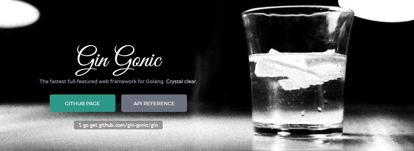 Golang Framework Gin Gonic