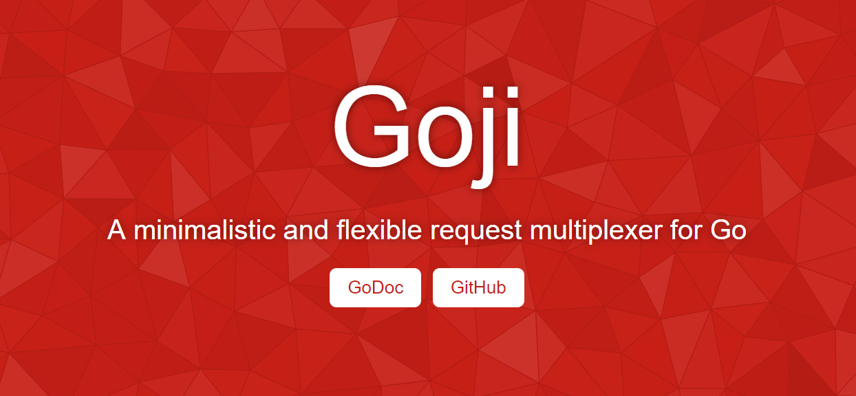Golang Framework Goji