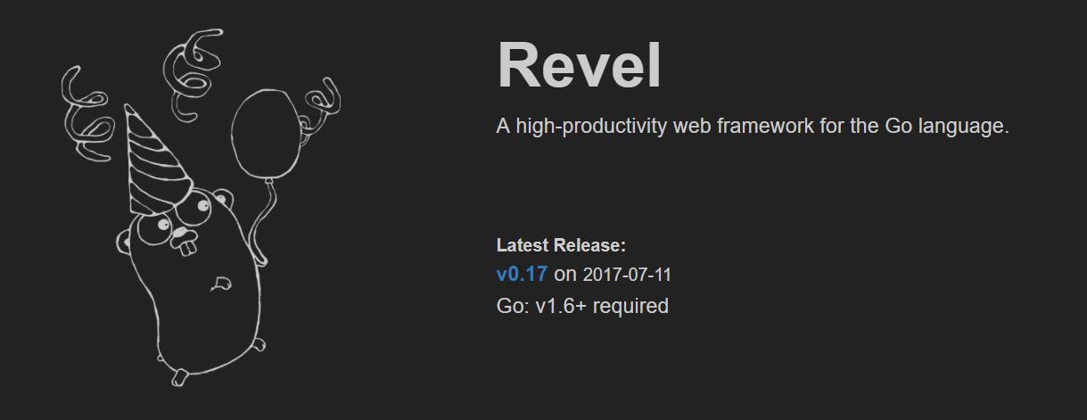 Golang Framework Revel