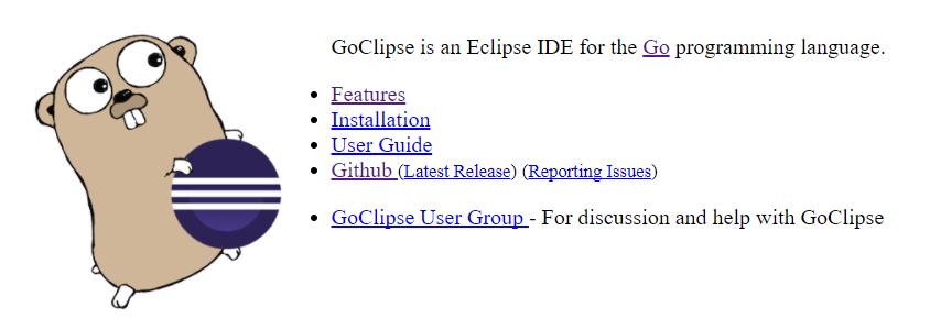 Golang IDE Eclipse+GoClipse