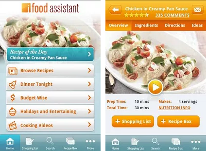 iFood Assistant Mobile App