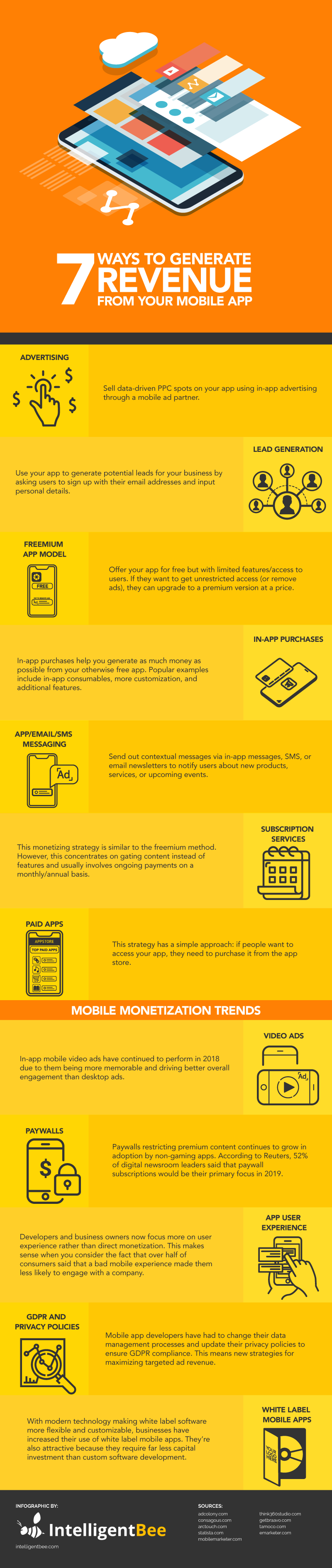Generate-Revenue-from-Mobile-App-Infographic